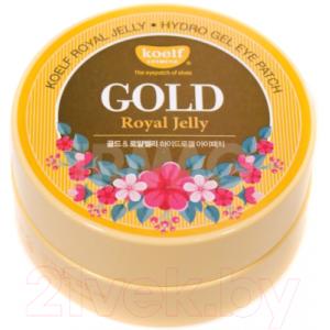 Патчи под глаза Koelf Gold Royal Jelly Hydrogel Eye Patch