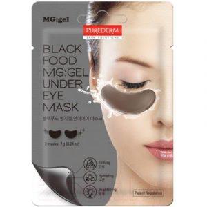 Патчи под глаза Purederm Black Food Mg Gel Under Eye Mask