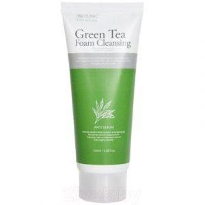 Пенка для умывания 3W Clinic Green Tea Foam Cleansing