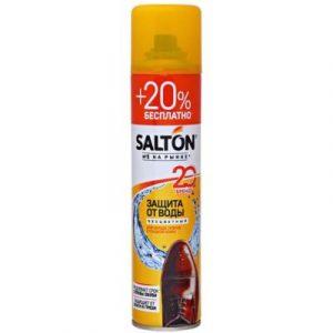 Пропитка для обуви Salton Защита от воды для кожи