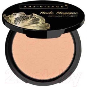 Пудра компактная Art-Visage Nude Magique для нормальной и сухой кожи тон 113 розовый беж