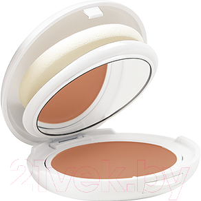 Пудра компактная Avene Солнцезащитная Компакт SPF50+ золотистый