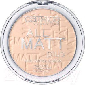 Пудра компактная Catrice All Matt Plus Shine Control тон 010