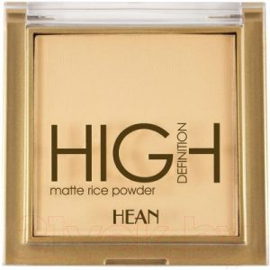 Пудра компактная Hean HD Mattifying Rice Powder тон 305