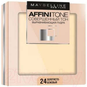 Пудра компактная Maybelline New York Affinitone Совершенный тон 24