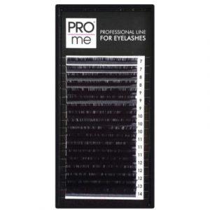 Ресницы для наращивания Pro Me Soft Микс C 0.10 7-14