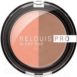 Румяна Relouis Pro Blush Duo тон 203
