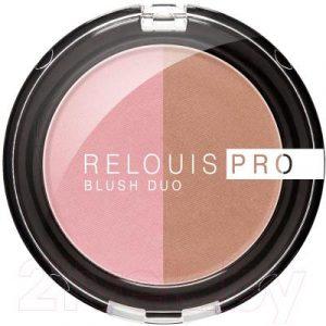 Румяна Relouis Pro Blush Duo тон 205