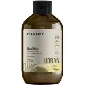 Шампунь для волос Ecolatier Urban д/сухих волос питательный авокадо и мальва
