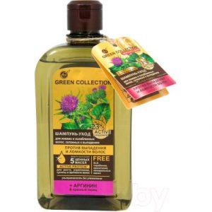 Шампунь для волос Green Collection Уход Против выпадения и ломкости волос