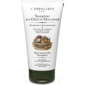 Шампунь для волос L'Erbolario На базе масла макассар