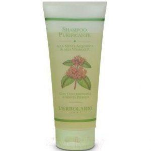Шампунь для волос L'Erbolario Очищающий на базе водной мяты и витамина Е