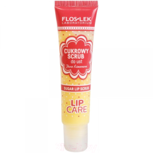 Скраб для губ Floslek Сахарный с ароматом груши