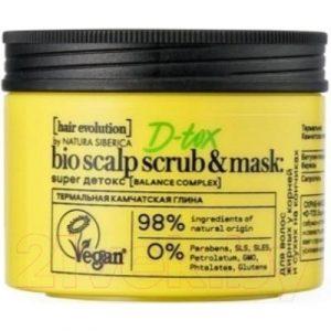 Скраб для кожи головы Natura Siberica Hair Evolution D-Tox.Super