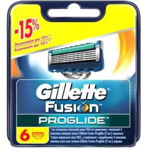 Сменные кассеты Gillette Fusion ProGlide