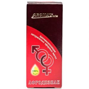 Смесь эфирных масел Aroma Saules Афродизиак-унисекс