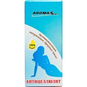 Смесь эфирных масел Aroma Saules Антицеллюлит