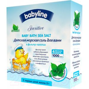 Соль для ванн детская Babyline Морская с крапивой DC08