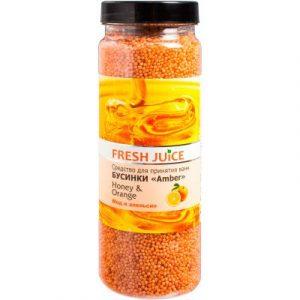 Соль для ванны Fresh Juice Мед и Апельсин