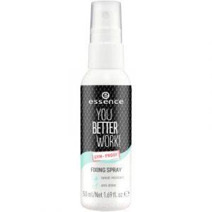 Спрей для фиксации макияжа Essence You Better Work! Fixing Spray