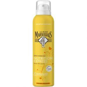 Спрей для тела Le Petit Marseillais Увлажняющий экспресс-питание масло карите сладкий миндаль