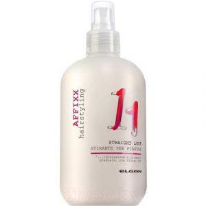 Спрей для укладки волос Elgon Affixx Straight Look с термозащитой