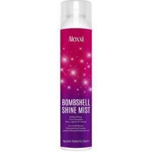 Спрей для волос Aloxxi Bombshell Термозащитный спрей-блеск