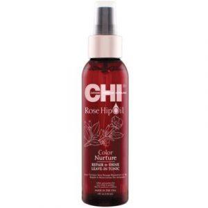 Спрей для волос CHI Rose Hip Oil Dry UV Protecting Oil Сухой защитный для блеска