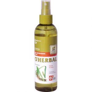 Спрей для волос Elfa Pharm O'Herbal для укрепления волос с экстрактом корня аира