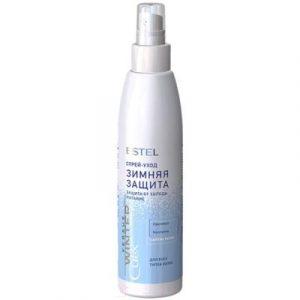 Спрей для волос Estel Curex Versus Winter защита и питание с антистатическим эффектом