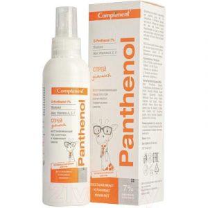 Спрей после загара Compliment Panthenol восстанавливающий 3+