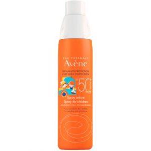 Спрей солнцезащитный Avene SPF50+ для детей