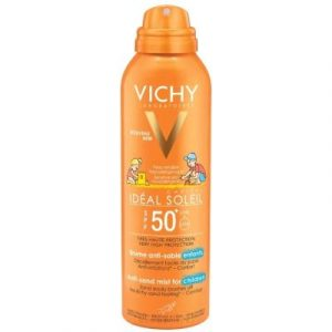 Спрей солнцезащитный Vichy Capital Soleil SPF50+ детский анти-песок