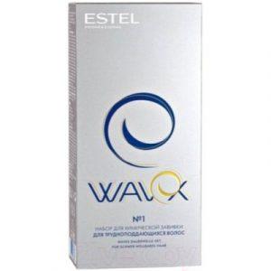 Средство для химической завивки Estel Wavex для химической завивки для трудноподдающихся волос №1