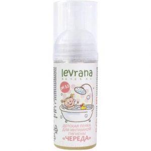 Средство для купания Levrana Пенка Череда для интимной гигиены