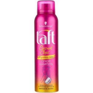 Сухой шампунь для волос Taft Casual Chic для длинных волос