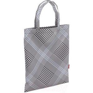 Сумка-шоппер Erich Krause 10L Black&White / 48909