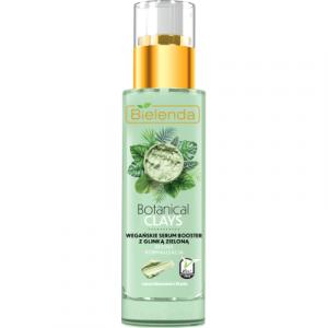 Сыворотка для лица Bielenda Botanical Clays веганская с зеленой глиной
