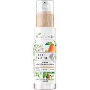 Сыворотка для лица Bielenda Eco Nature какаду слива+жасмин+манго увлажняющая и успокаивающая