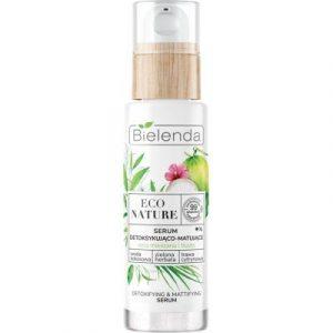 Сыворотка для лица Bielenda Eco Nature кокосовая вода+зеленый чай+лемонграсс детокс. матир.