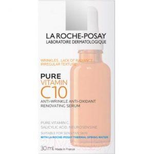 Сыворотка для лица La Roche-Posay Vitamin C10 Serum антиоксидантная