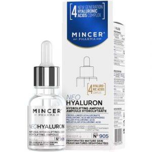 Сыворотка для лица Mincer Pharma 905 Гидролифтинг в ампулах