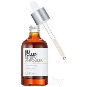 Сыворотка для лица Missha Bee Pollen Renew Ampouler обновляющая
