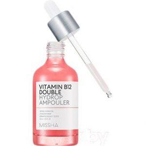 Сыворотка для лица Missha Vitamin B12 Double Hydrop Ampouler