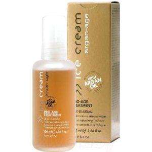 Сыворотка для волос Inebrya Pro-Age с аргановым маслом для увлажнения и питания волос
