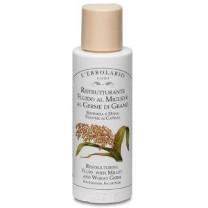 Сыворотка для волос L'Erbolario Жидкий восстановитель с просом и зародышами пшеницы