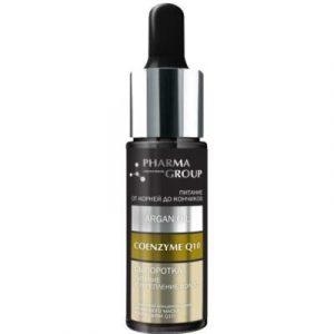 Сыворотка для волос Pharma Group Питание и укрепление аргановое масло+коэнзим Q10