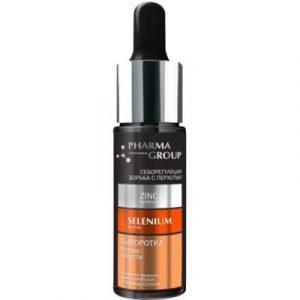Сыворотка для волос Pharma Group Против перхоти цинк пиритион+сульфид селена