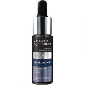 Сыворотка для волос Pharma Group Против седины коллаген+гиалуроновая кислота