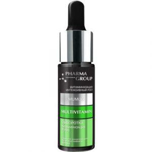 Сыворотка для волос Pharma Group Витаминизация мультивитамины + мумие